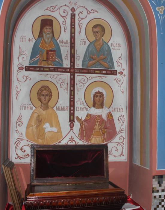 витебск, успенская церковь, частицы мощей