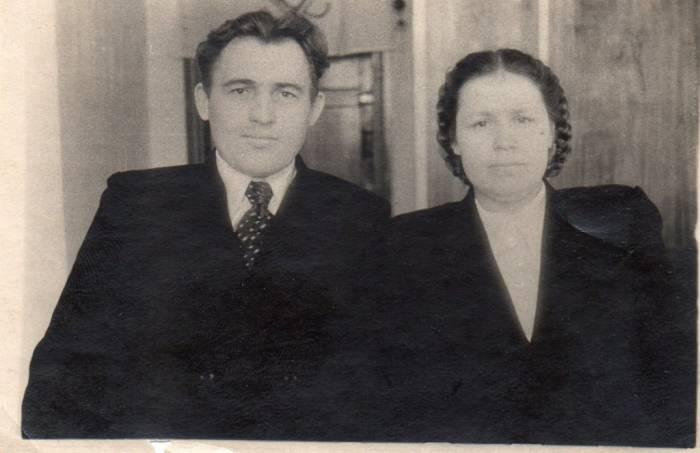 Петр Кондратенко со своей женой Татьяной Константиновной. Фото из личного архива Елены Мовсесян