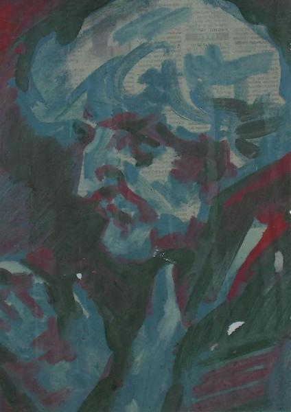 Чукин, портрет, Витебск, Корженевский