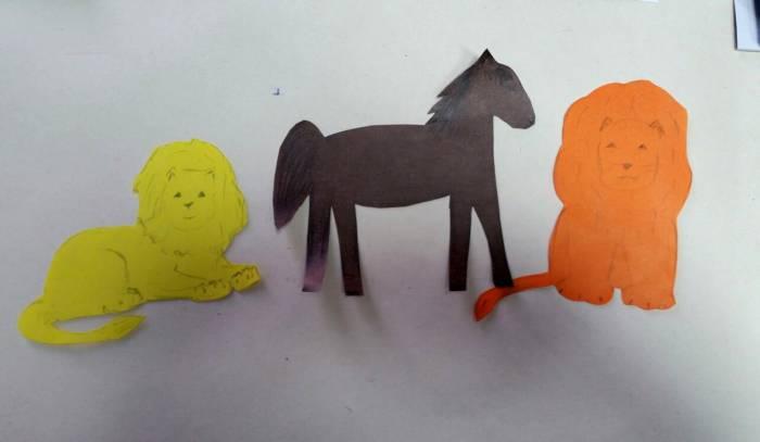 Конь - для принца, львы - для белой панны. Фото: Аля Покровская