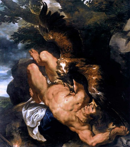 Прометей, Рубенс, живопись, титаны, Корженевский