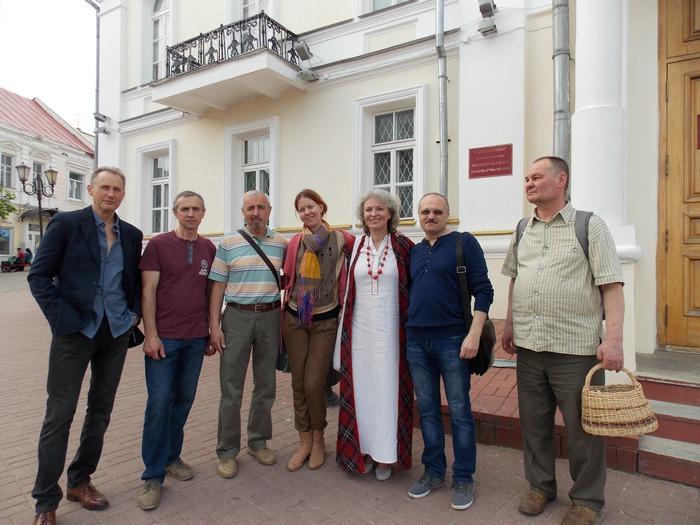 Витебск, художники, ратуша, искусство, Корженевский