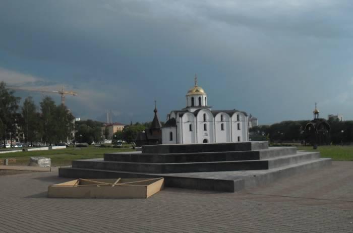 витебск, александр невский, постамент, памятник