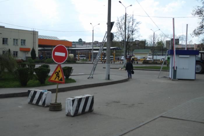 автовокзал стоянка