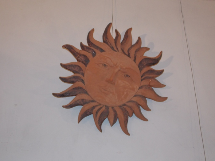 солнце, керамика, Кутаркин, Корженевский