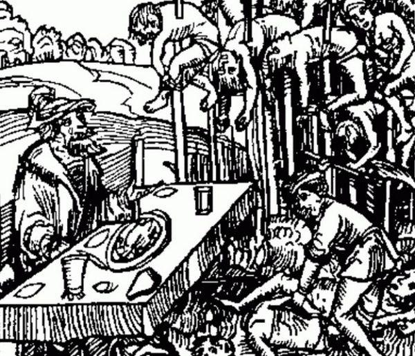 казнь, Средневековье, Корженевский