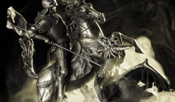 Георгий, змий, дракрн, диорама, Корженевский