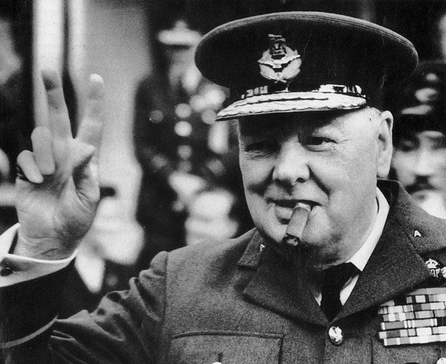 Черчилль, Великобритания, курение, Корженевский