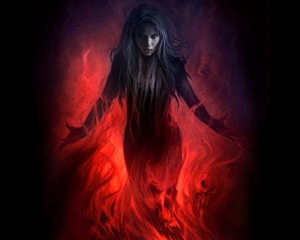 ведьма, магия, огонь, Корженевский