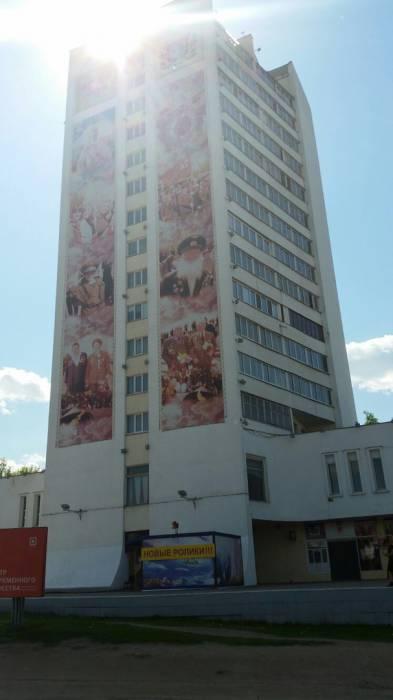 Витебский небоскреб-старожил на ул. Белобородова. Фото: Аля Покровская