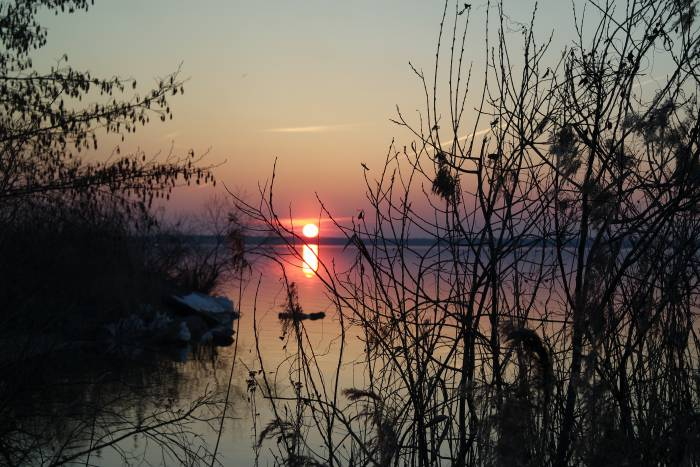 Лукомльское озеро. Фото Анастасии Вереск