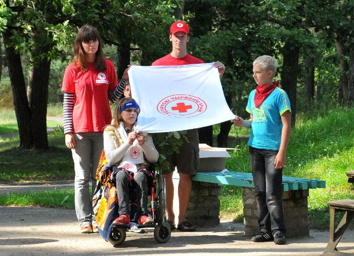 красный крест, белорусская организация