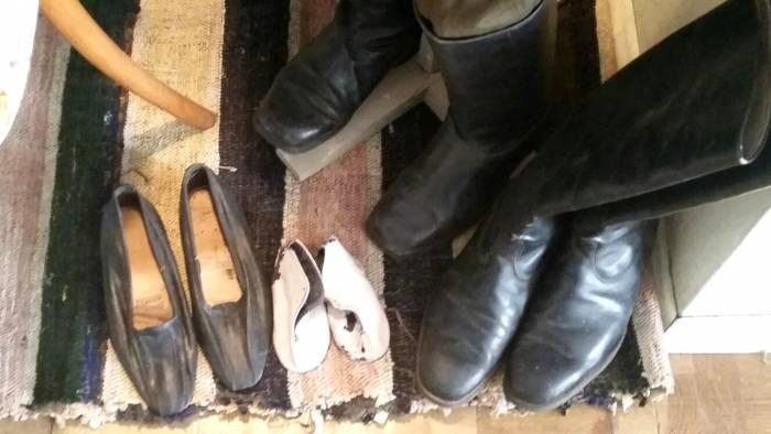 Обувь времен Великой Отечественной войны. Фото: Аля Покровская