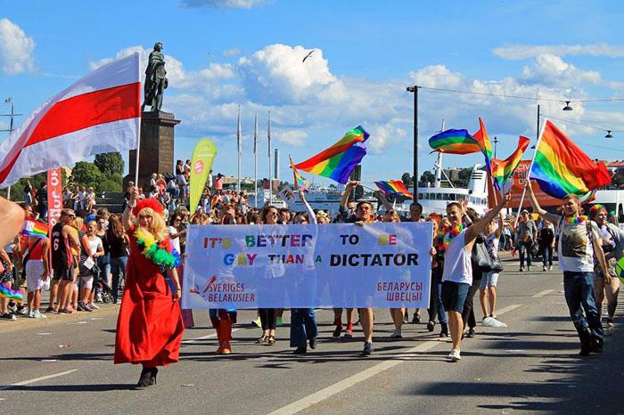 Парад в Швеции, 2015 год. Источник interfax.by