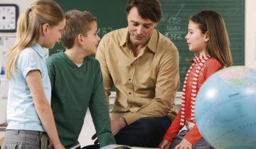 сельская школа, учитель
