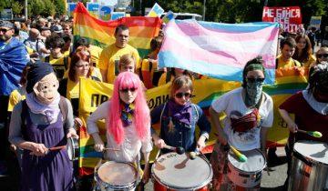 """""""Марш равенства"""" в Киеве. Фото Reuters"""