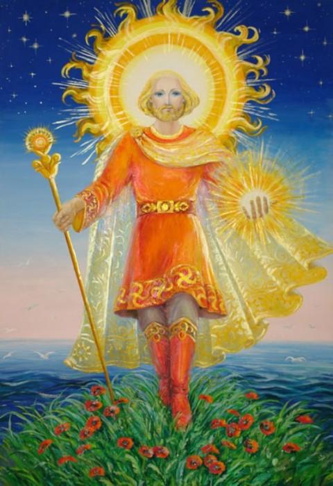 Ярило - Бог солнца и плодородия. Фото energoplastica.ru