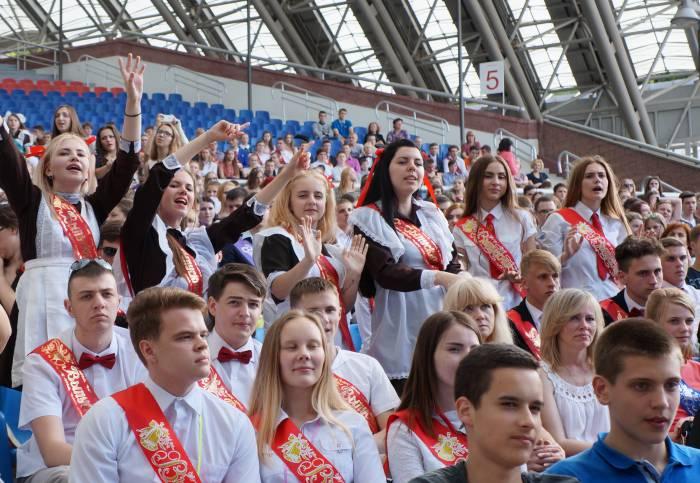 Выпускники Витебска уже готовы к взрослой жизни! Фото: Алена Евдокимова