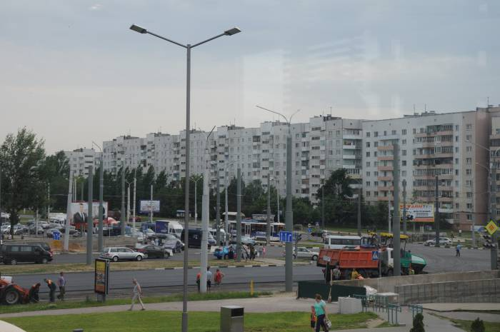 Общий вид пробки. Фото Анастасии Вереск