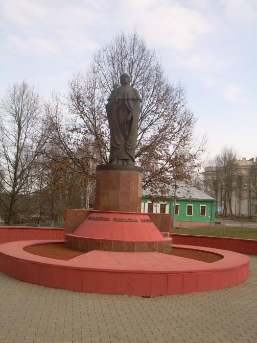полоцк, памятник Ефросинии Полоцкой