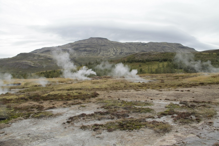 гейзеры, Исландия, Корженевский