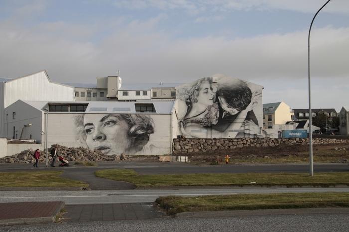 Исландия, граффити, Корженевский
