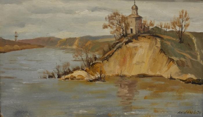 Ковалев, живопись, пейзаж, Корженевский