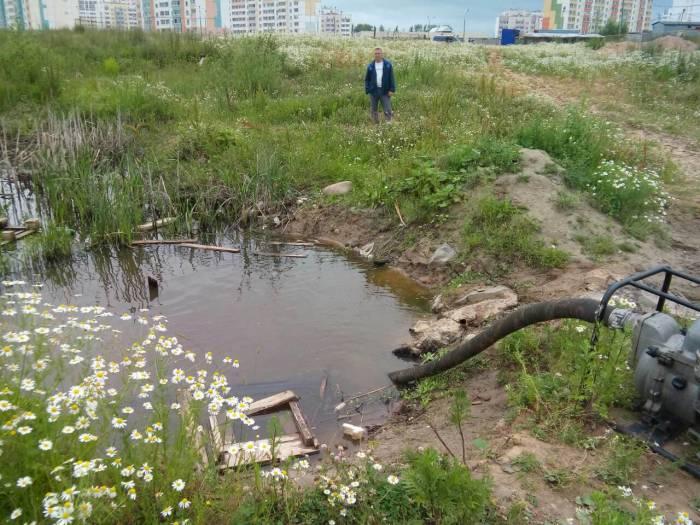 Билево, водоем, ивановского