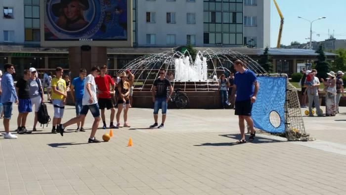 Играем до победного гола! Фото: Аля Покровская