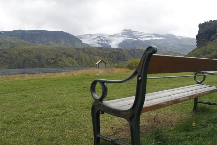 вечное, Исландия, скамейка, Корженевский