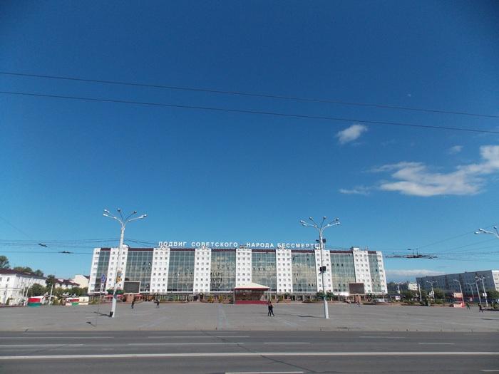 Витебск, площадь