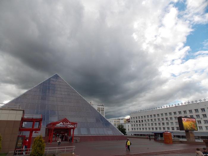 Витебск, пирамида