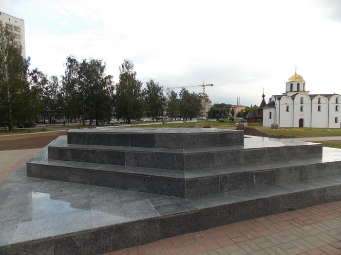 Витебск, постамент