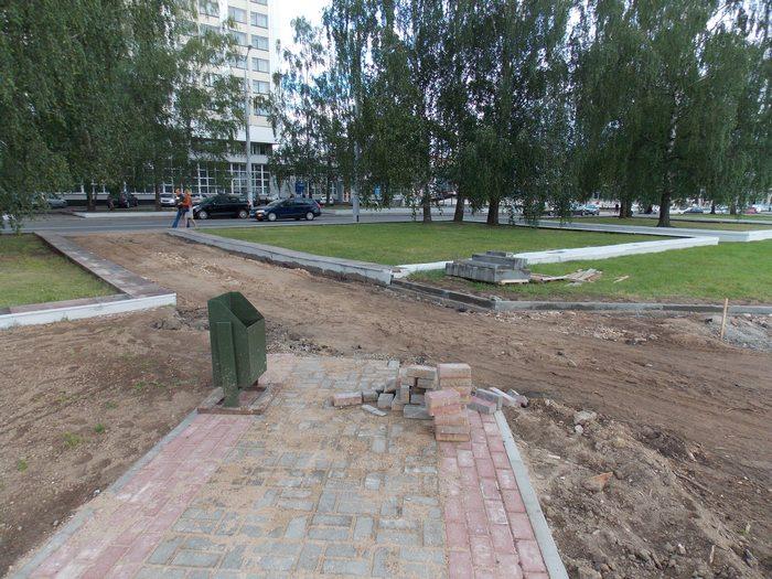 Витебск, плитка