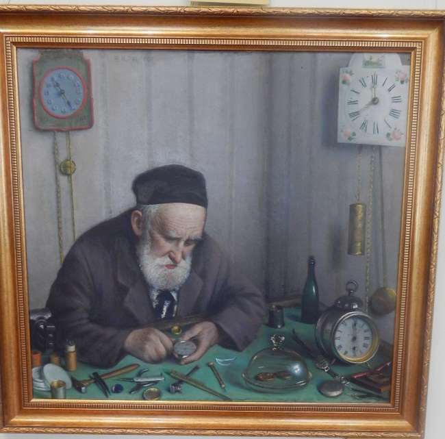 часовщик, картина юрия пэна
