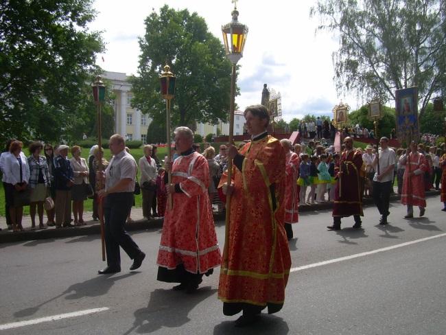 крестный ход, полоцк, день святой евфросинии