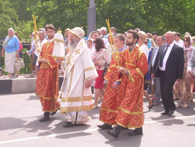 крестный ход, полоцк, святая Евфросиния