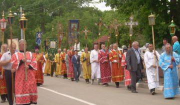 крестный ход, полоцк-2016