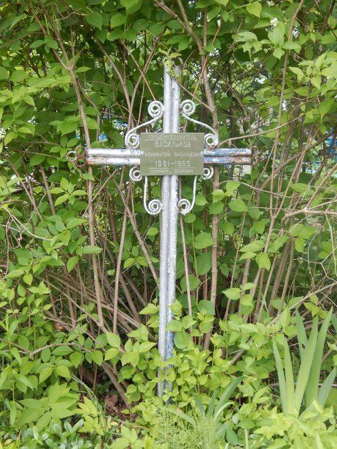 крест, кладбище, дрюково