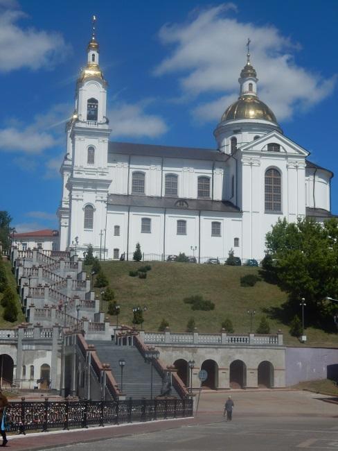 успенский собор, успенская горка, витебск
