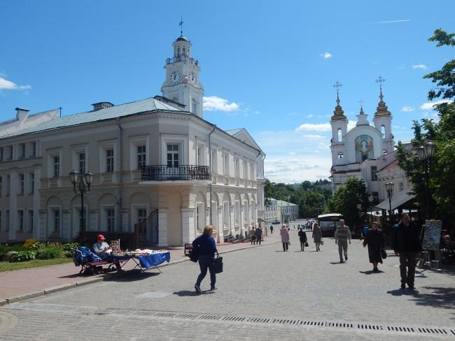 улица суворова, ратуша, витебск