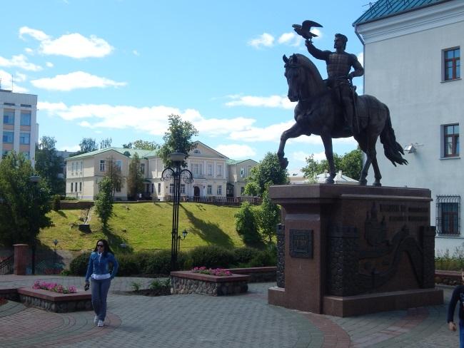 ольгерд, памятник витебск