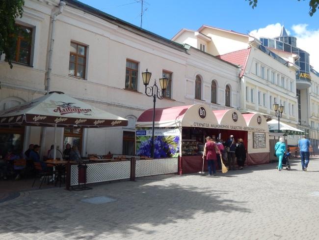 витебские продукты, летнее кафе, улица суворова