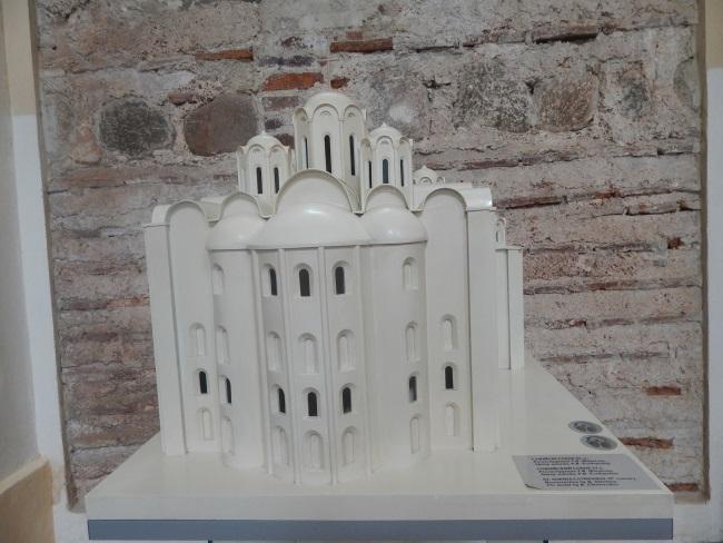 софийский собор, макет