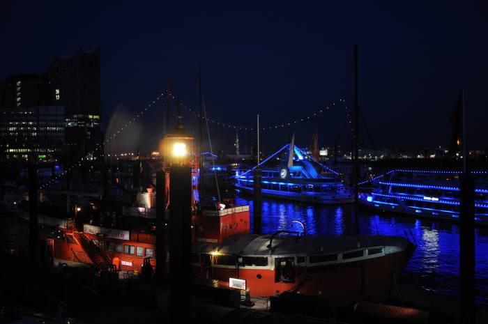 Ночной порт. Фото Анастасии Вереск