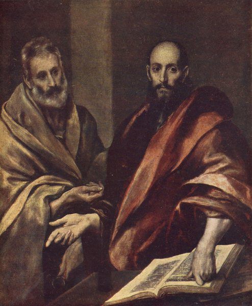 христианство, Холокост, Греко, апостолы, Пётр, Павел