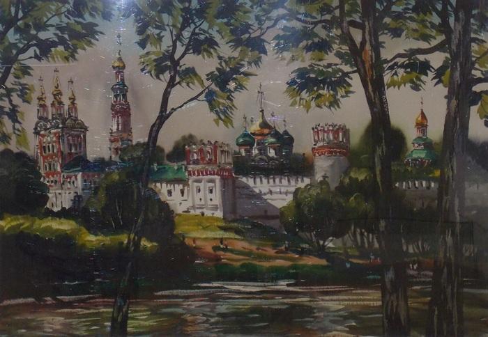 Гумен, Москва, акварель, Корженевский