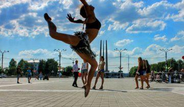 Огонь танца. Фото Анастасия Раймонд.