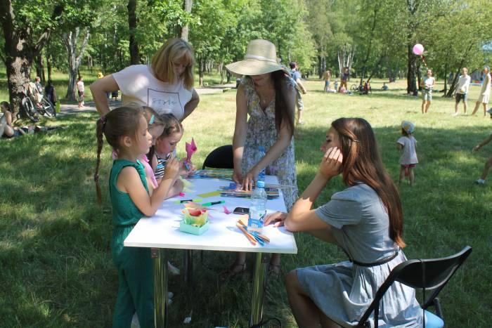 оригами, дети, мазурино, праздник ветра