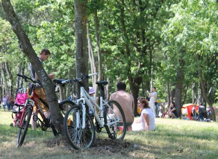 велосипеды, парк мазурино, праздник ветра